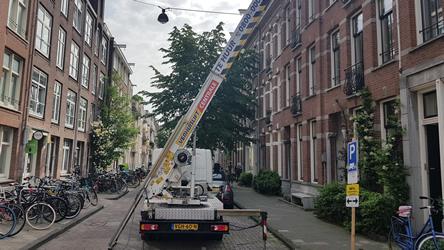 verhuislift in Amsterdam